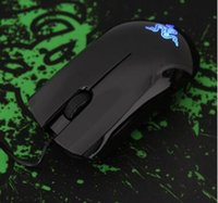 Wholesale Brand New Abyssus G DPI Games USB Mouse For Desktop Professional Gamers Razer Wired Mouse