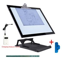 Wholesale Alent inches A3 USB Powered LED Light Box Artist Craft Tracing Light Table Dimmable Drawing Pad X ray Pad