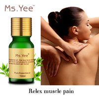 Wholesale SPA Compound Essential Oils Relieve Muscle Pain Blood Circulation Shoulder Neck Dredge Aromatherapy Massage Aromatic Oil ML