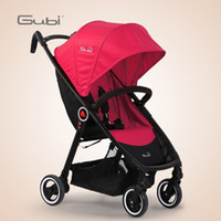 Wholesale Gubi portable folding stroller cushions than summer baby stroller can sit and lie push umbrella car baby carriage