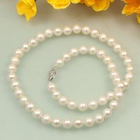 african culture fashion - s038 AA mm White Black Pink Cultured Fresh Water fashion Pearl Necklace