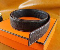 Wholesale New Style Designer Belts Men Genuine Leather Belt Plain Belt For Men Women High Quality Alloy H Belts