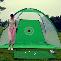 Wholesale Golf Practice Net Indoor Outdoor Training Cage Hitting Chipping Driving Aid Golf Chipping Driving Practice Net MD0173