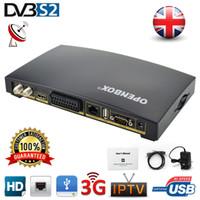 venda por atacado digital receiver-30pcs Openbox V8S digital 4k suporte para receptor de satélite WEBTV Biss chave USB Wifi 3G Youtube Youporn CCCAMD NEWCAMD