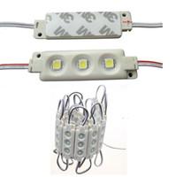 Wholesale Backlight LED Modules Injection ABS Plastic W RGB Led Modules Waterproof IP65 LEDs Led Storefront Light