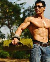 Wholesale Green sand bag gym dumbbell kg kg kg kg kettle bell Man home fitness brand Power Kettle bell