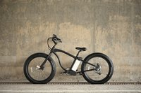 Wholesale adult Mountain E Bike Sport Black Speed Fat tire W V AH quot Mountain Electric Bicycle