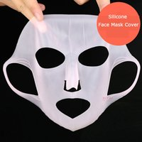 Wholesale Hydrating Mask Cover Silicone Reuse Waterproof Beauty Face Moisturizing Mask For Sheet Mask Cover Face Care Tool Locking Water