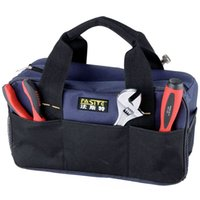 Wholesale Multifunctional Electrical Bag Tools Case Oxford Bag Electrician Canvas Tool Bag Toolkit