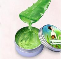 aloe sun burn - 2017 Fashion Natural Aloe Vera Gel Remove Face Cream Inhibit Acne Scar Sun Burn Moisturizing Cream
