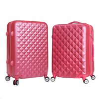 Wholesale Unisex Rolling Luggage Solid Color Travel Suitcase Password Valise Boarding Luggage Sets Suitcases Travel Box JO0039