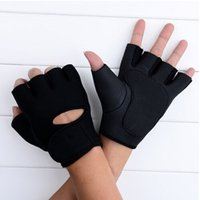 Wholesale Premium Sports Running Gloves Summer Bike Half Short Riding Sport Half Finger Gloves Bodybuilding Anti Slip Gloves