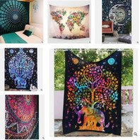 Wholesale Indian Bohemian Mandala Tapestry Wall Top Quality Hanging Sandy Beach Picnic Throw Rug Blanket Camping Tent Travel Mattress Sleeping Pad