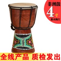 Wholesale African Djembe Inch Percussion Hand Drum For Sale Wooden Jambe Doumbek Drummer with pattern