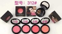 Wholesale 2017 MINERALIZE Blush New Arrivals hot makeup face powder blush colors with brush and mirror