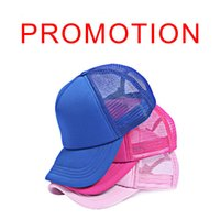 Wholesale Sale On Now Adult baseball caps Customized candy color Net caps pictures advertisement hats snapback baseball cap Peaked hat