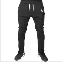 Wholesale New Mens Joggers Fitness TrainingRunningJogging Pants Men Brand Gymshark Bottoms Bodybuilding Sweatpants
