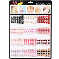Wholesale Candy Lover style sweet color rhinestones noble D False nails fake Nail wedding bride