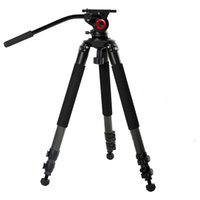 Wholesale 2017 miliboo professional aluminum mtt701a tripod for video camcorder fluid head dslr better than manfrotto tripod
