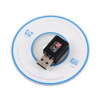 Wifi pc France-Adaptateur Wifi USB 150Mbps Mini Wi-Fi Dongle 2.4G 802.11g / b / n Carte réseau sans fil LAN Carte WiFi Récepteur USB pour ordinateur de bureau
