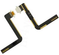 al por mayor ipad acoplamiento negro-10PCS / lot NUEVO cargador negro que carga el conectador portuario del muelle con el cable de la flexión para el iPad 5 del iPad del iPad
