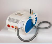 Nouveau modèle 2000mj Portable Q-Switch ND: YAG Laser Pigment Tattoo Removal Machine marque de naissance retrait maison ou salon