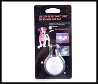 Wholesale Pets Safety Blinker Collar Light with Carabiner Clasp Nite SpotLit Clip on LED Go Anywhere Light dhl free