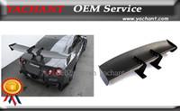 Wholesale Car Accessories Carbon Fiber FRP Fiber Glass mm GT Wing Fit For Universal VTX Type SWAN NECK Rear GT Wing Spoiler
