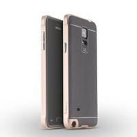 IPAKY® Marco de PC robusto Armor Funda de teléfono móvil para Samsung Galaxy Note 4 N910A / V / T