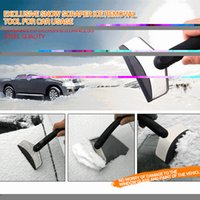 Cheap Wholesale-Winter Self-driving Road Trip Travel Kit Mini Auto Car Vehicles Ice Scraper Snow Removal Shovel - No Harm to Window Glass