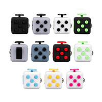 Wholesale 2017 New color Fidget cube the world s first American decompression anxiety Toys Fidget Cube Anti Irritability Toy Magic