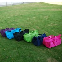 Wholesale Blanks Plain Polyester Large Garden Tote Yard Utility Tote Bag Garden Tool Bags Handbag In Many Colors DOM307