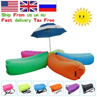 Wholesale UK stock lamzac inflatable air lounge sleepping bag hangout Laybag KAISR Beach Sofa Lounge only Seconds Quick Open Lay bag