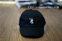 Wholesale Hat drake it s too late letter bone snapback cap panel Gorras Casquette yeezus boost Hats hip hop baseball cap