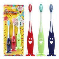 Wholesale 3 Sets Baby Soft bristled Toothbrush for Children teeth Cute Training Toothbrushes baby dental care tooth brush