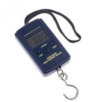 Wholesale Digital Scales kg kg Hanging Scale Lage Weight Balance Steelyard Black LCD Mini Pocket Scale Electronic Scale