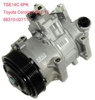 Wholesale TSE14C air conditioning compressor for Toyota Corolla CG447280