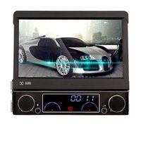 automotive consoles - Single DIN Car DVD Player autoradio GPS WIN8 UI Touch Screen Stereo Radio automotive free map