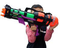 Wholesale New Arrival cm Large Water Gun Pump Action Super Soaker Sprayer Outdoor Beach Garden Toy Children Guns Kids Games