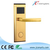 Wholesale High quality hotel door access system digital Electric Promotion intelligent Electronic hotel key card door lock