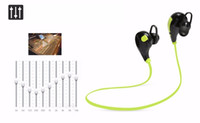 Wholesale In ear Bluetooth Headphone QY7 Bluetooth Stereo Earphone Fashion Sport Running Headsets Studio Music Earphone