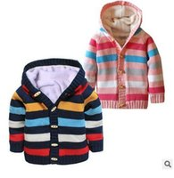 american button machines - Children with thick sweater coat high grade wooden ox horn button cotton thread the material quality with thick white coral fleece soft