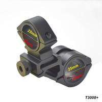 bar rail brackets - AloneFire mm ring Sight bracket scope mounts Bike Bicycle Light Torch Flashlight Handle Bar Handlebar Clip Mount Bracket Holder