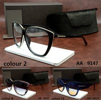 Wholesale 2017 TOM brand retro Designer Big Size style women girl vintage DITA FORD sunglasses binding eyewear ver Oculos Carrer crocodile miu glasses