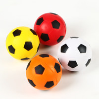 Wholesale PU funny Sponge anti stress ball surprise bouncy science caomaru antistress toy football Children funny gadgets gift