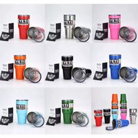 Wholesale 30oz Yeti coolers Vacuum Insulated Rambler Colster Insulated Cup Mug Drink Holder Insulated Stainless Steel