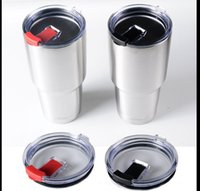 Wholesale 30 oz cup lid camo yeti tumbler proof yeti lids AS Spill And Splash Resistant Lid With Slider Closure COLOR KKA1011