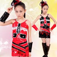 Wholesale Children s Jazz Dance Gymnastics Modern Dance Hip Hop Children s Clothing Piece Free Shopping