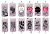 apple quotes - Beautiful Positive Quote Unicorn Heart Glitter Liquid Hard Phone Case Coque For iPhone Plus S Plus S SE