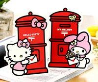 Compra Postal de la moda-Venta al por mayor-Nueva moda al azar lindo dibujo animado hola gatito melodía postal tarjeta de felicitación tarjeta de cumpleaños tarjeta de regalo K7506